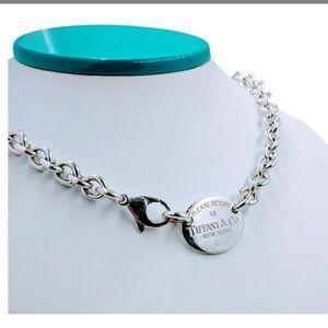 Tiffany's oval choker necklace